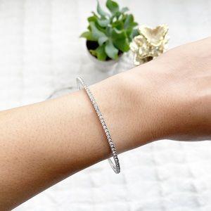 Nadri All Around Cubic Zirconia Bangle Bracelet